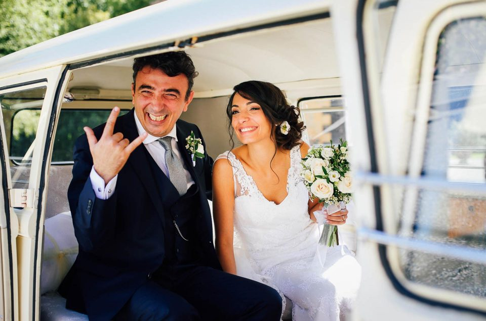 Real wedding: a summer ending wedding at an Italian Villa