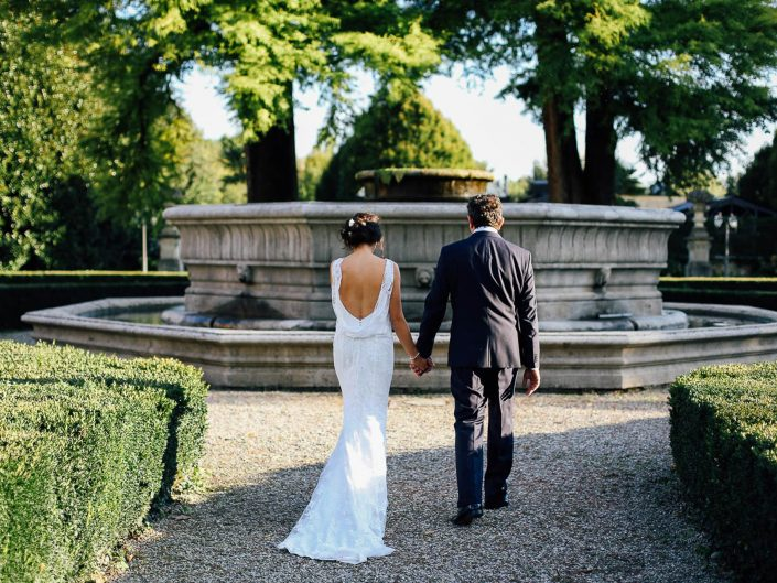 Elena and Stefano – Villa Castelbarco – North Italy