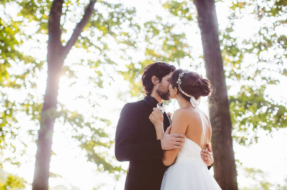 Real wedding: a classic and elegant October wedding at Monza Park