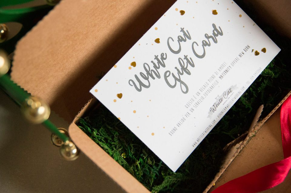 New White Cat Wedding gift card!