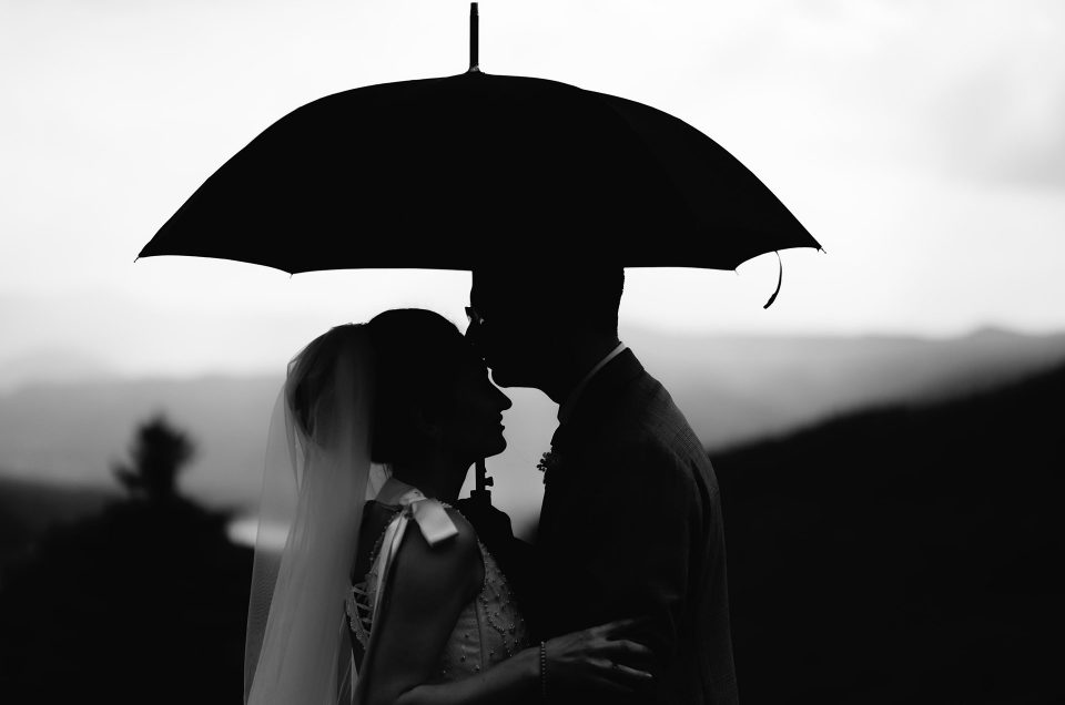 What to do if it's raining on your wedding day