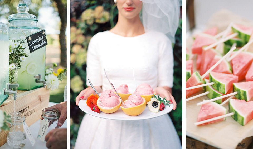 A summer wedding: suggestions and inspirations
