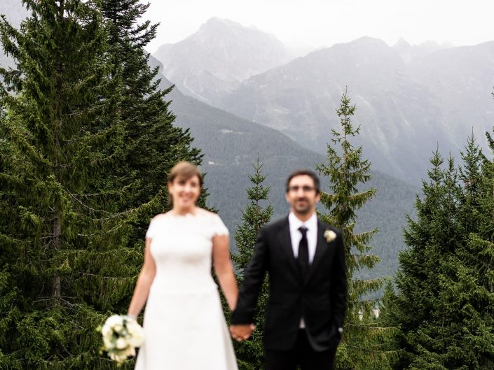 Laura and Pasquale – Dolomites wedding